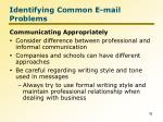 identifying common e mail problems6