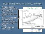 modified newtonian dynamics mond