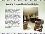 ortak y princess hotel genel bilgiler1