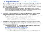 2 project summary fundamentally unchanged from 2007 review