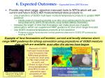 6 expected outcomes expanded from 2007 review