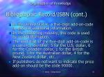 bibliographic record isbn cont2