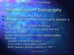 mechanization of bibliography1