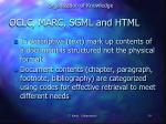 oclc marc sgml and html1
