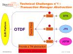 technical challenges n 1 transaction manager abstraction2