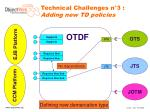 technical challenges n 3 adding new td policies3