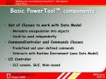 basic powertool components