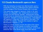 13 5 claudio monteverdi s opera on nero