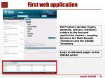 first web application3