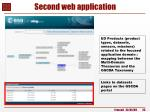 second web application2