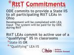 rttt commitments
