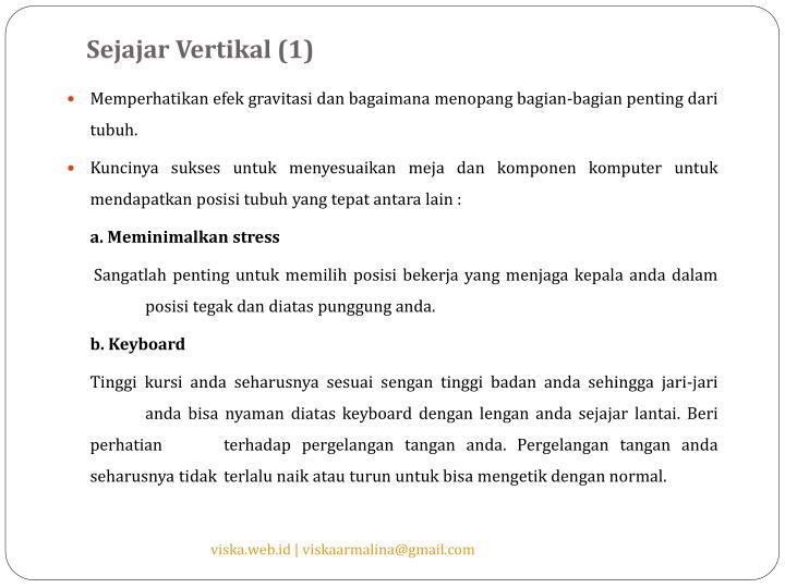 Sejajar Vertikal (1)