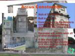 arcus constantini