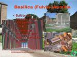 basilica fulvia aemilia