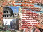 theatrum marcelli porticus octaviae