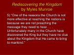 rediscovering the kingdom by myles munroe4