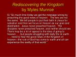 rediscovering the kingdom by myles munroe5