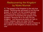 rediscovering the kingdom by myles munroe8