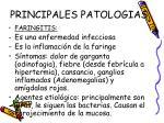 principales patologias
