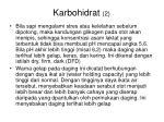 karbohidrat 2