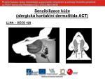 senzibilizace k e alergick kontaktn dermatitida act4
