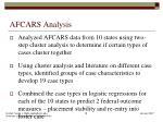 afcars analysis
