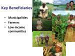 key beneficiaries