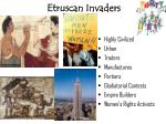 etruscan invaders