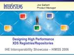 designing high performance xds registries repositories