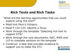 rich texts and rich tasks1