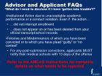 advisor and applicant faqs what do i need to disclose if i have gotten into trouble