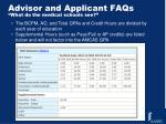advisor and applicant faqs what do the medical schools see
