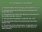 3 1 2 years in the bible
