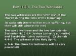 rev 11 3 6 the two witnesses