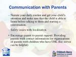 communication with parents1