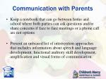 communication with parents2