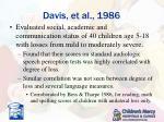 davis et al 1986