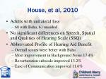 house et al 2010