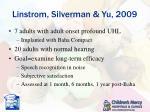 linstrom silverman yu 2009
