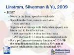linstrom silverman yu 20091