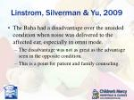 linstrom silverman yu 20092