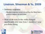 linstrom silverman yu 20095