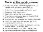 tips for writing in plain language from reporting to parents on tki