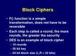 block ciphers1