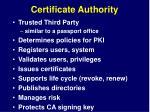 certificate authority1