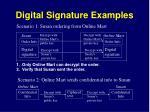 digital signature examples