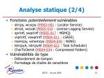 analyse statique 2 4
