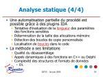 analyse statique 4 4