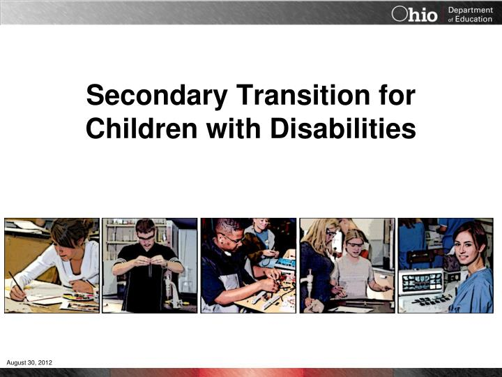 secondary transition for children with disabilities n.