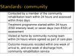 standards community